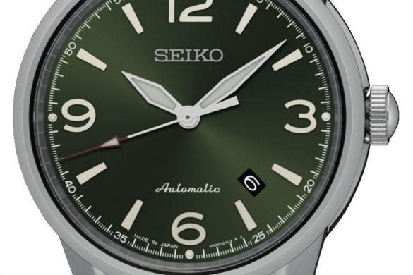 SEIKO se met au « Vert »