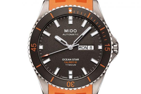 MIDO OCEAN STAR CALIBER 80 TITANIUM
