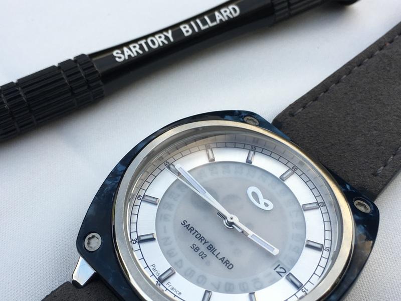 sartory billard sb02 lancement chez ochrono montres et tendances. Black Bedroom Furniture Sets. Home Design Ideas