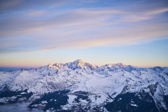 Paradiski, les pieds dans la neige et la tête dans les nuages