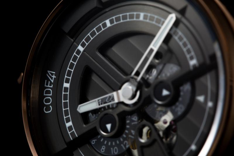 Code41 : une communication qui dérange, une montre qui interpelle