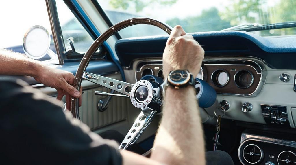 REC P-51, la montre conçue à partir d'anciennesFord Mustang