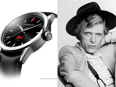David Bowie, la légende de la pop, honoré par Raymond Weil