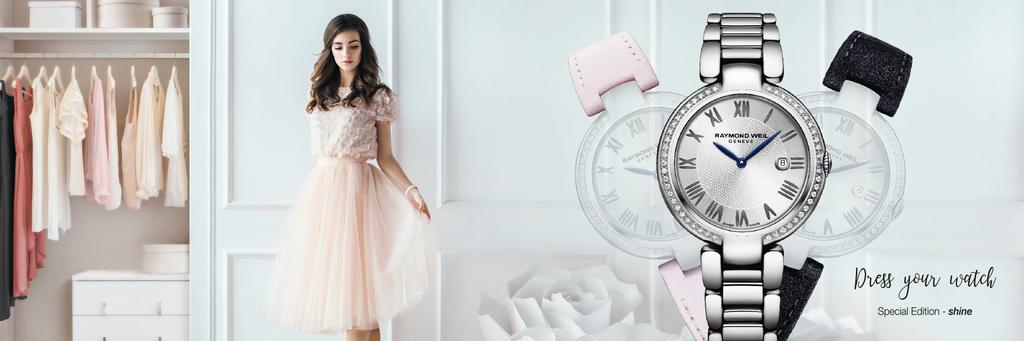Shine «Etoile» de Raymond Weil & Repetto sous les feux de l'icône des ballerines