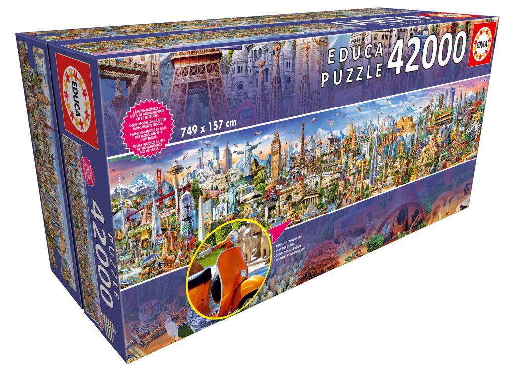 Educa Le Tour du Monde 42000 pièces