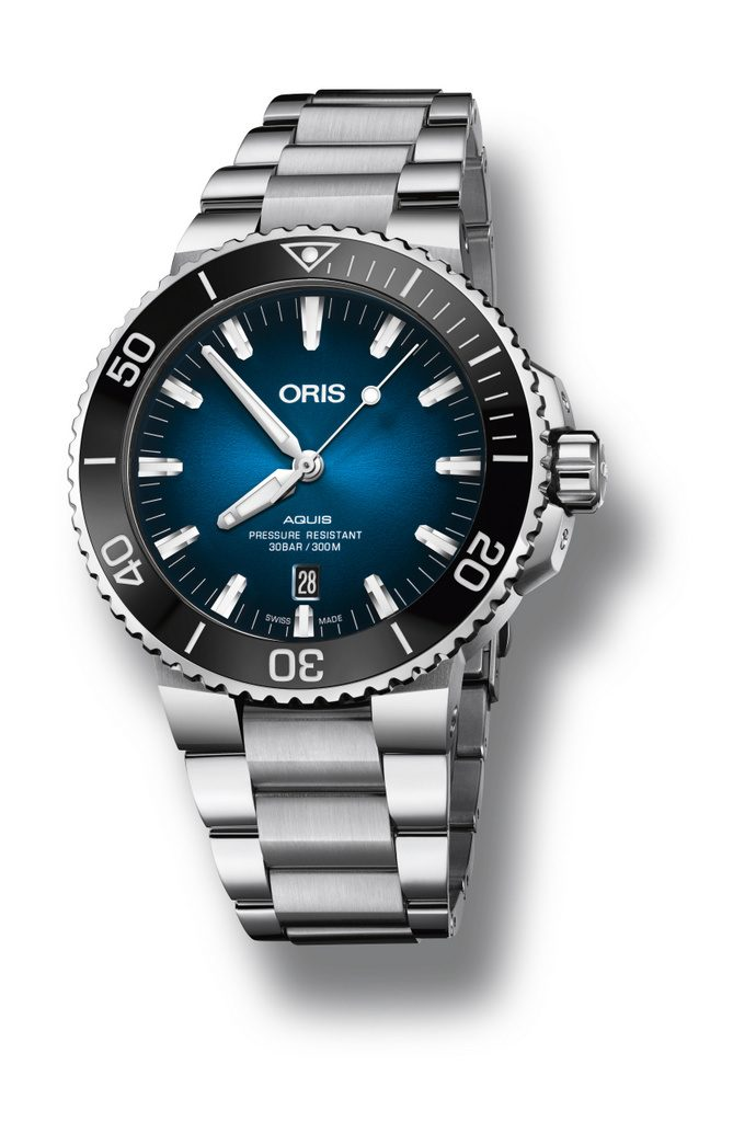 Oris Clipperton Limited -Bracelet en acier inoxydable