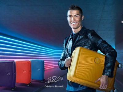 Cristiano Ronaldo, nouvelle égérie d'American Tourister
