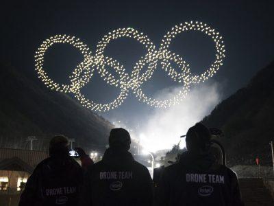 Les drones Intel illuminent le ciel aux Jeux Olympiques de PyeongChang