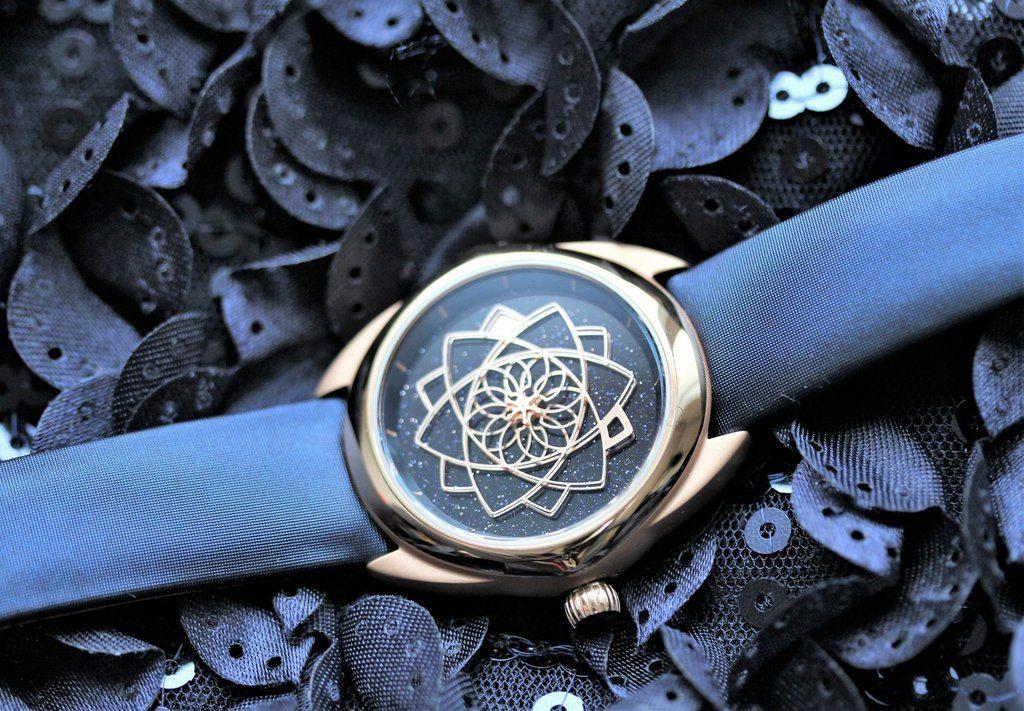 MUSE - Swiss art watches STELLA 37 Aventurine - Titane 5N