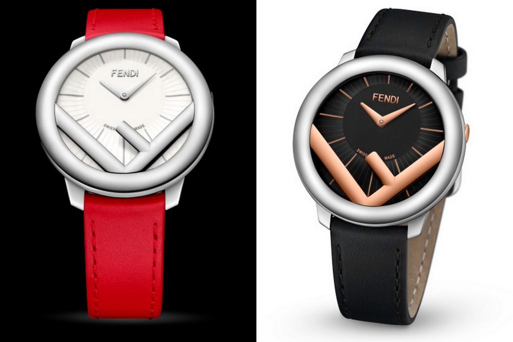 Fendi Timepieces présente sa Run Away aux formes géométrique