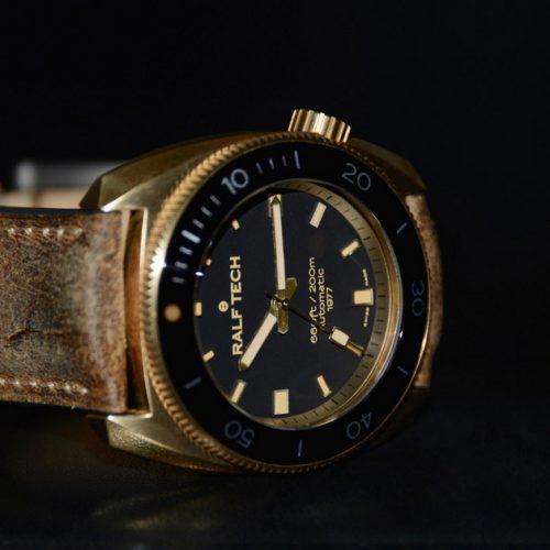 Ralf Tech WRV « V » Automatique 1977 « Bronze », la 1977 très spéciale !