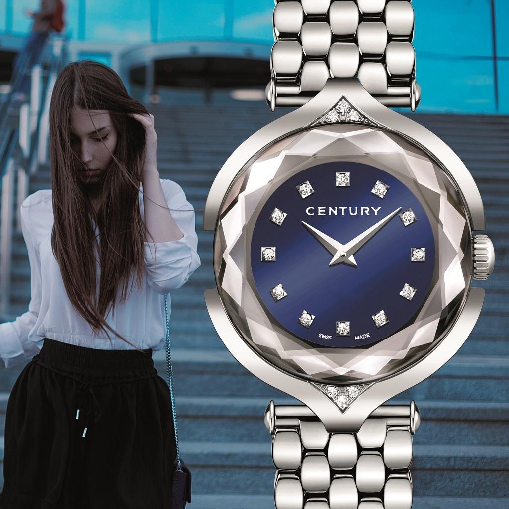 Century AFFINITY s'habille d'un cadran bleu nuit intense