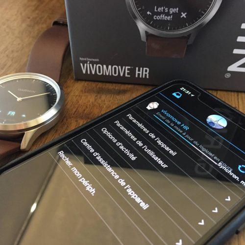 Garmin Vivomove HR Premium, l'essai