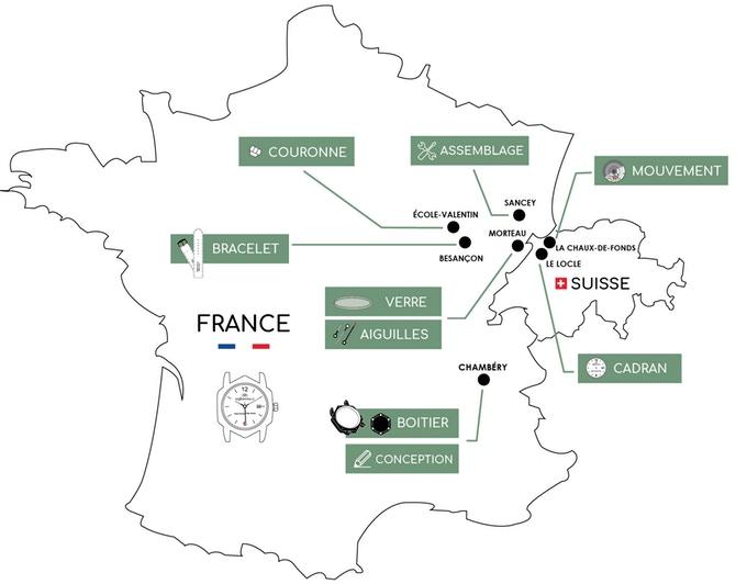 Hexagonale - Fabrication française