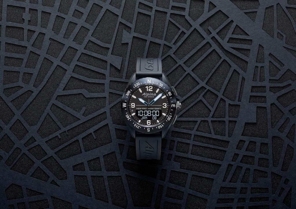 Alpina lance l'AlpinerX Outdoors Smartwatch sur Kickstarter