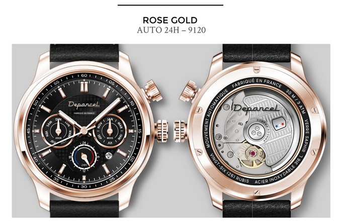 Depancel Auto 24H Rose Gold