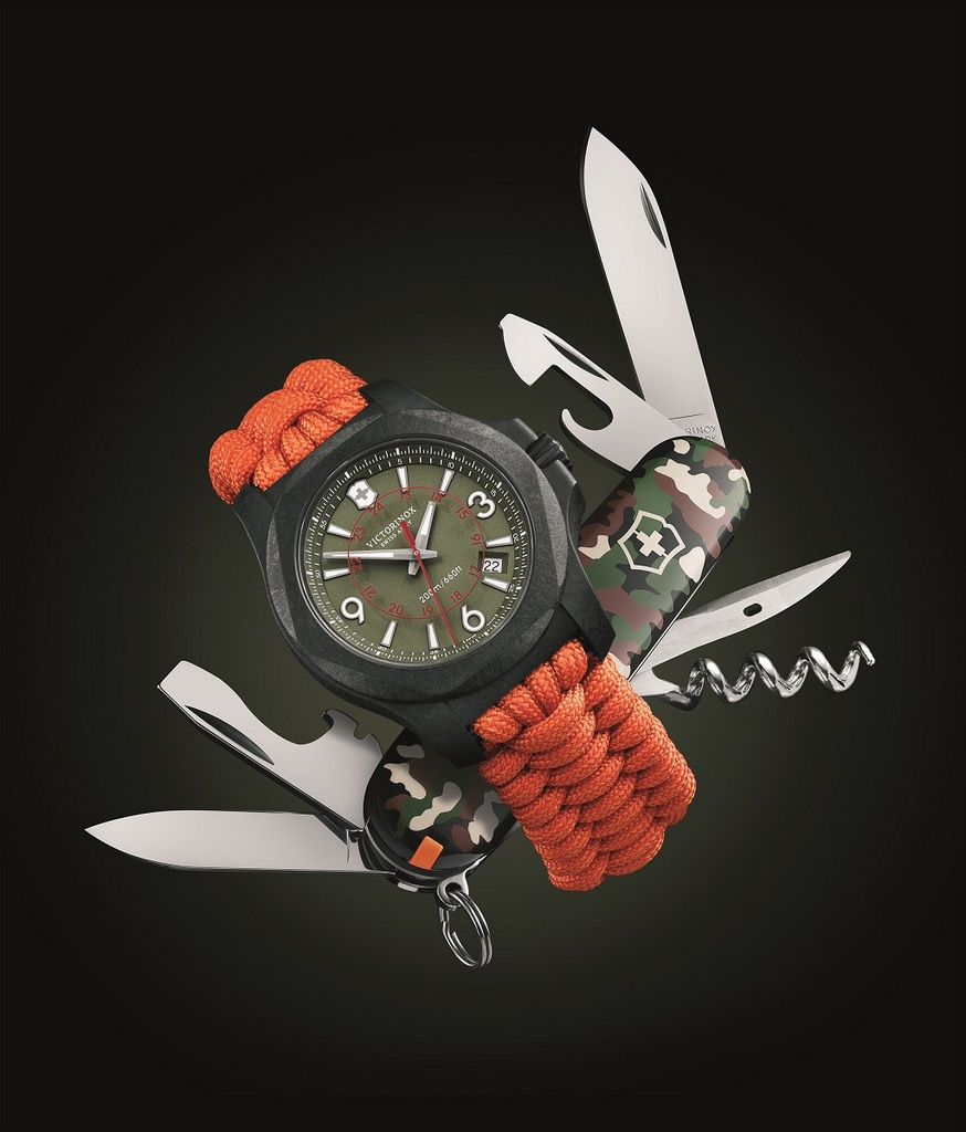 La nouvelle Victorinox I.N.O.X. Carbon limited Edition