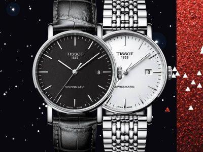 TissotEverytimeSwissmatic, toute l'élégance d'une montre automatique