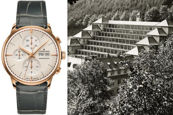 Junghans Meister Chronoscope Terrassenbau :la montre du centenaire