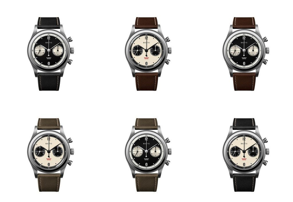 Baltic chronographe Bicompax Panda