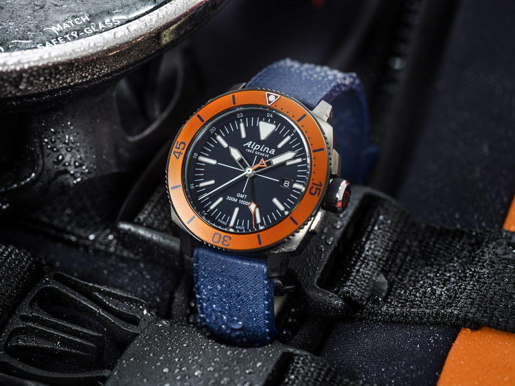 Alpina Seastrong GMT AL-247
