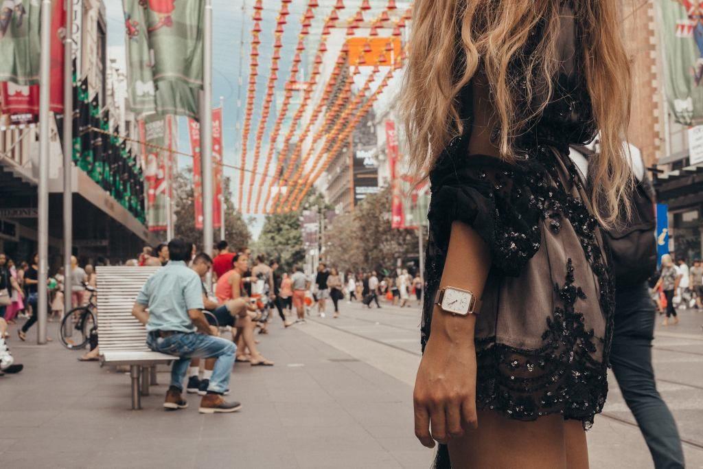 David Daper collection Time Square