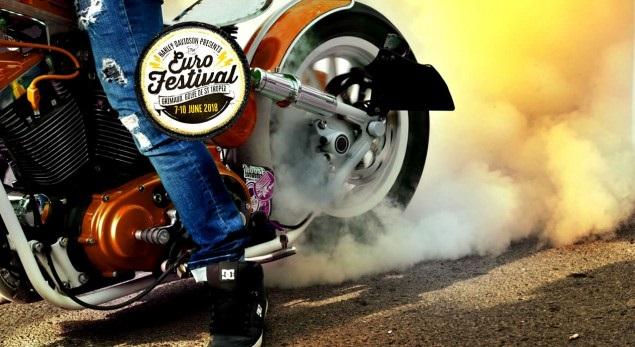 Harley-Davidson 11ème édition de l'Eurofestival à St-Tropez du 7 au 10 Juin 2018