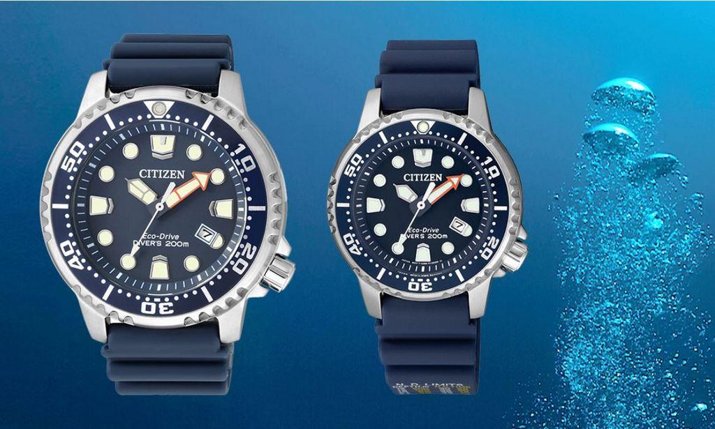 CITIZEN Promaster Marine Eco-Drive, la montre père et fils