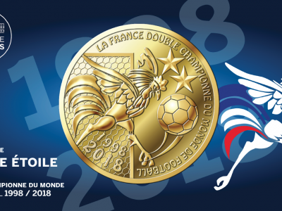 Une médaille commémorative officielle à 5€