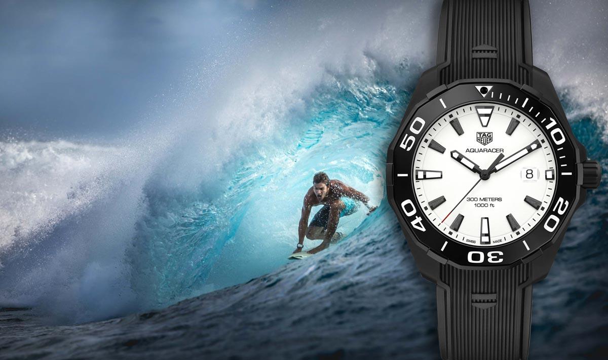 Aquaracer, la montre de sport inspirée de l'univers aquatique