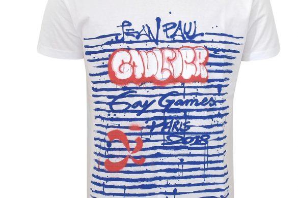 Jean-Paul GAULTIER signe un tee-shirt pour lesGay Games 2018