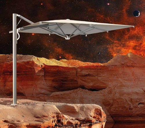 Scolaro Astro Space Grey, le parasol qui prend soin de vous