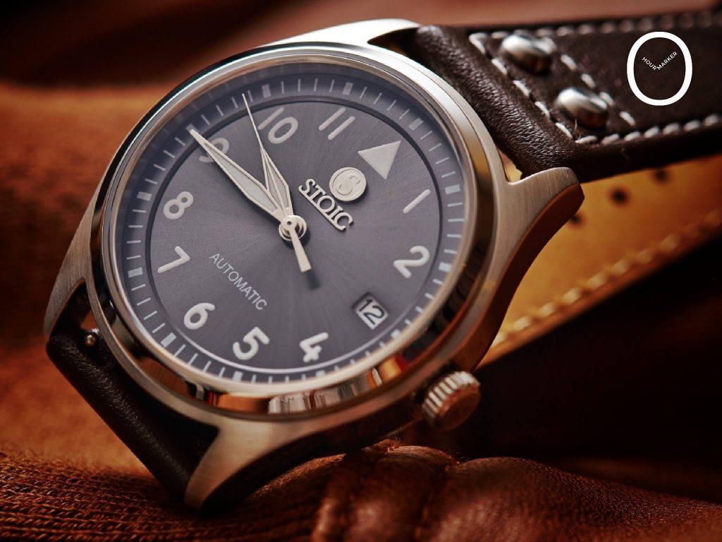 """Le modèle """"Pilots"""" rappelant les montres des années 40' (crédit photo Hourmarker)"""