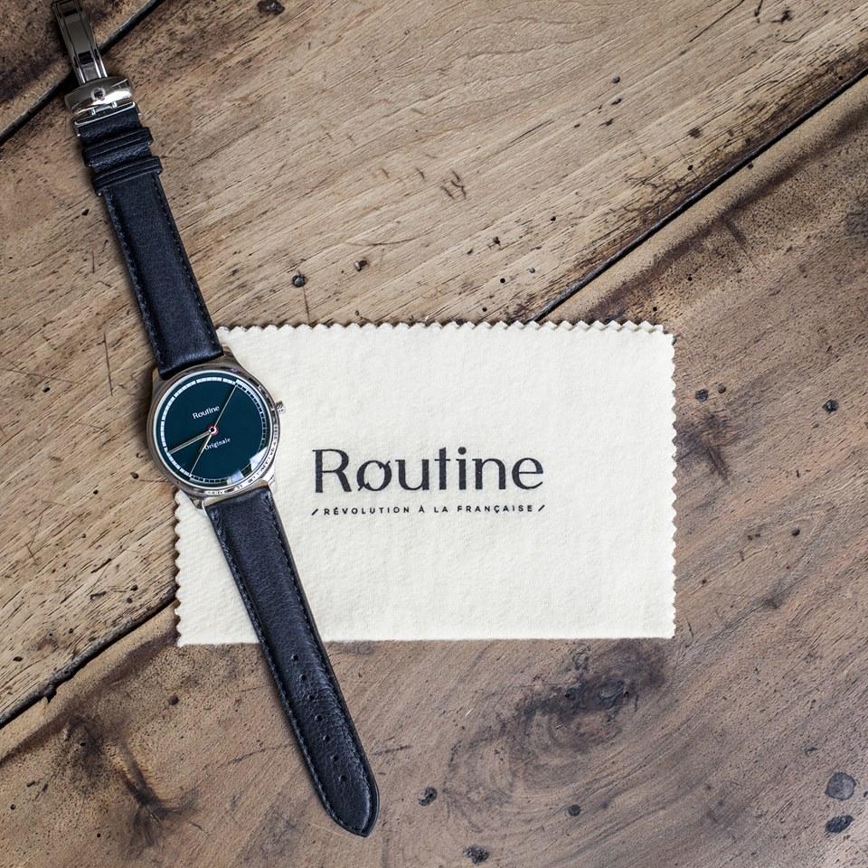 Routine, la marque de montres la plus made in France du monde