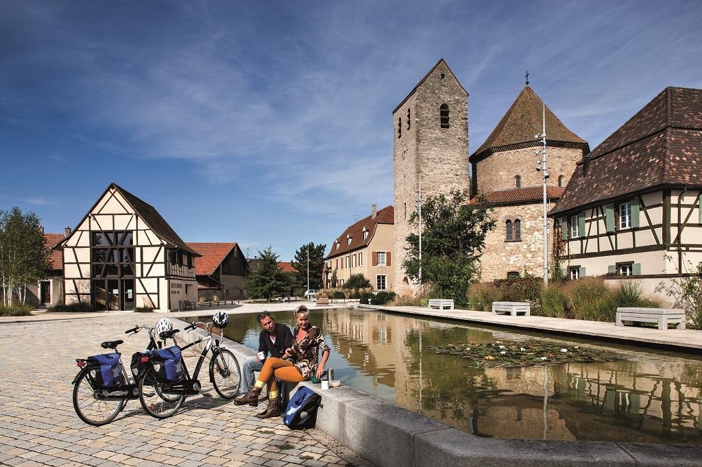 Le tourisme à vélo en Alsace