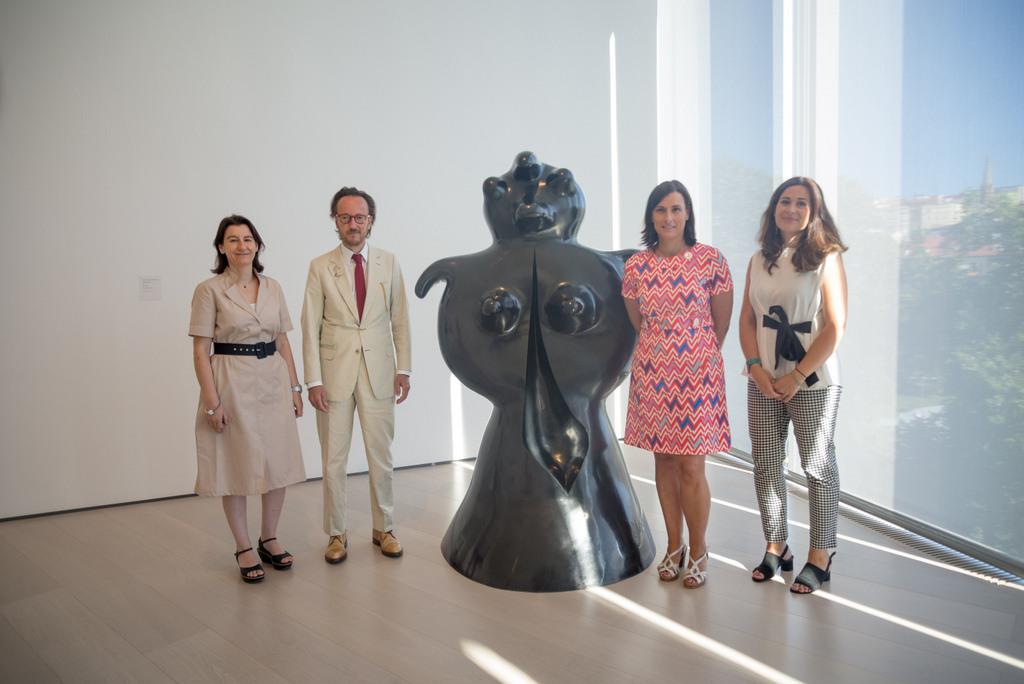 La famille Miró cède 4 sculptures