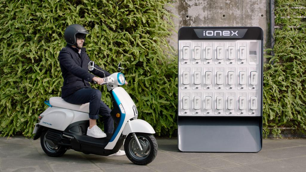 Ionex, le scooter électrique de KYMCO