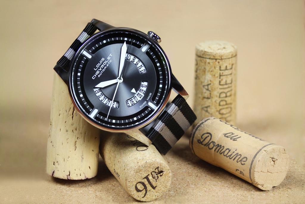 Louis Chevrolet lance sa nouvelle montre automatiqueClassic 8