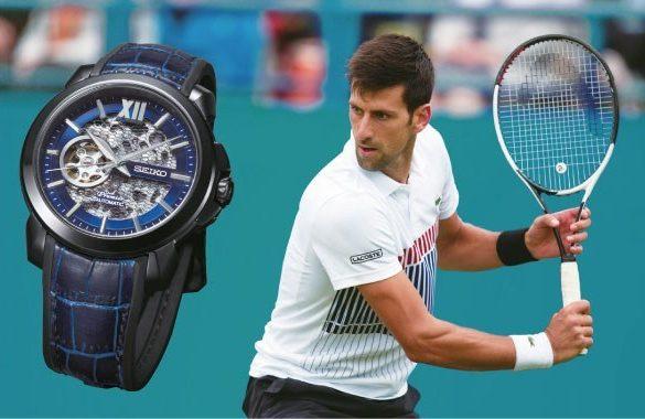 Seiko conçoit une collection Premier squelette pour Novak Djokovic