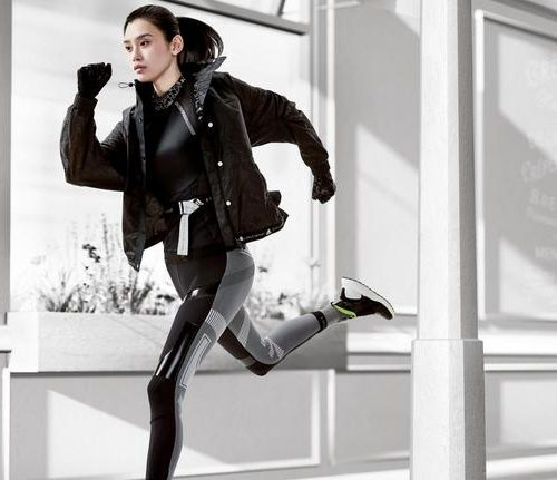 Du fitness 4D avec Adidas by Stella McCartney aux Galeries Lafayette