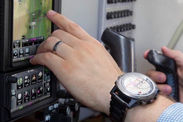 D2 Delta : la nouvelle montres Garmin pourles pilotes d'avions