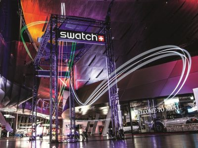 Swatch partenaire officiel de la Drone Racing League