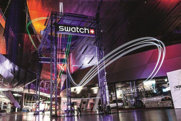 Swatch partenaire officiel de la Drone Racing League