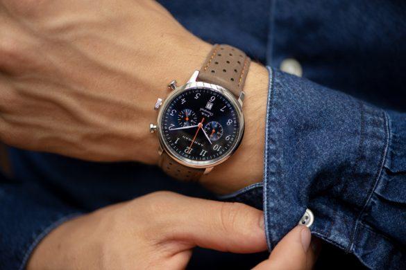 Armogan lance la collection E.N.B. une montre vintage et sportive