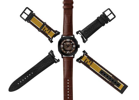 Fendi Timepieces met en avant par le célèbre logo FF