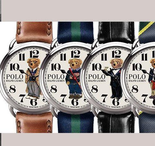 Ralph Lauren présente sa nouvelle collection de montres Polo Bear