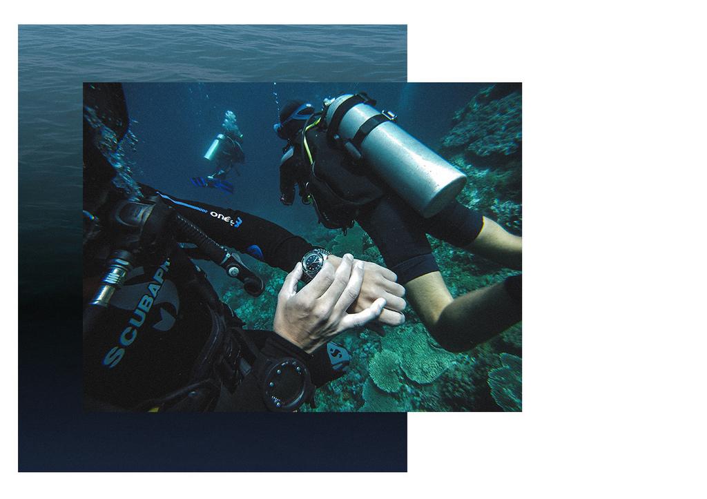 Aquascaphe, la plongeuse de Baltic