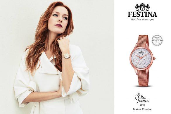 Festina, partenaire officiel horloger dela cérémonie Miss France
