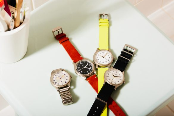 Merci lance une montre 100% unisex