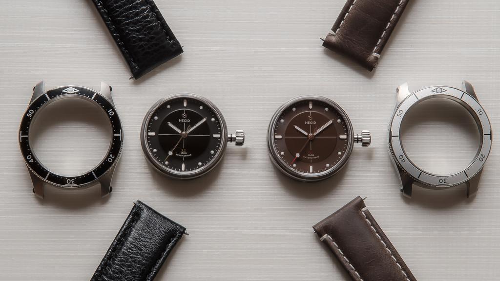 Hegid habille l'horlogerie
